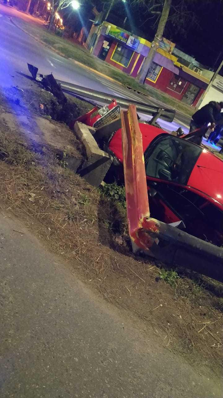 Auto chocado 2