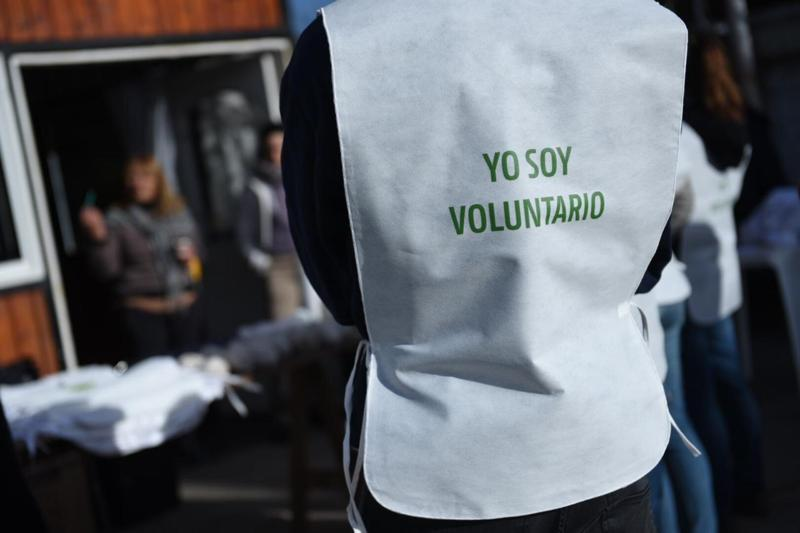Los voluntarios de la empresa multinacional